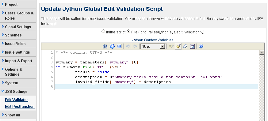 Screenshot Exle Of Add Parameters To Condition Screen With Inline Option Selected